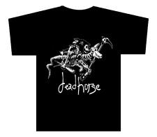 "deadhorse - Original  Vintage ""Death Rides a Dead Horse"" T-Shirt Design"