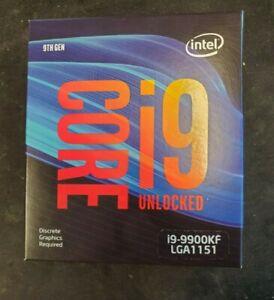 Intel i9-9900KF Desktop Processor 8 Cores up to 5.0GHz Unlocked LGA1151 95W