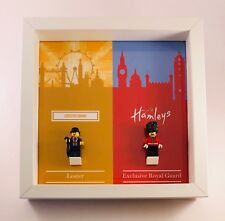 Display Frame for Lego Leicester Square Lester Hamleys Royal Guard minifigures