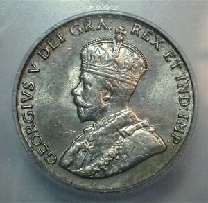1922 Canada 5 Cents ICG MS61 Condition   (303)