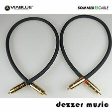 2x 1,5m Cinch-Kabel STRATOS Sommer Cable NF/Phonokabel High End...Erstklassig