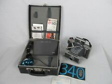 Polaroid 340 Land Camera Outfit Flash Bulbs Manual Original Field Case