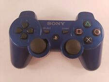 Genuine OEM Sony Playstation 3 PS Sixaxis Dualshock 3 Controller BLUE works chip