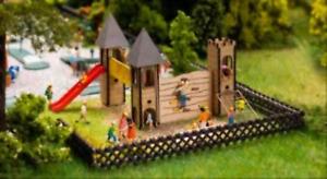 Faller 180446 HO Gauge Playground Castle Laser Cut Kit