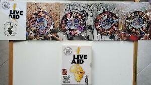 Live Aid 1985 4 dvd Box Set - U2 Queen David Bowie Sting  Region 2 3 4 5 6