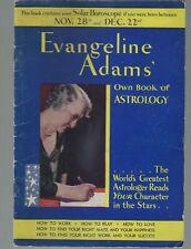 Evangeline Adams Own Book of Astrology 1931 Sagittarius