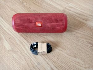 JBL Flip 3 Wireless Bluetooth Portable Travel Stereo Speaker Red.