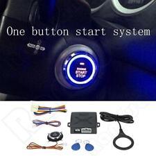 12V Keyless Entry Car Alarm System Push Button Start RFID Lock Engine Starter