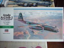 1 48 scale Arado Ar 234 B-2 BLITZ BOMBER HASEGAWWA Kit N° Jt 83 09083