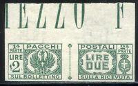 Luogotenenza 1946 Pacchi Postali n. 61a ** non dentellato (m2008)