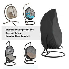 Hanging Swing 210D Chair Cover Waterproof Rattan Egg Seat UV Protect Furniture