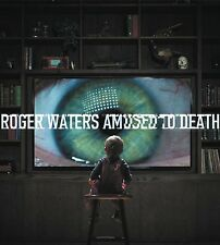 ROGER WATERS AMUSED TO DEATH REMASTERED CD & BLU-RAY AUDIO NEW