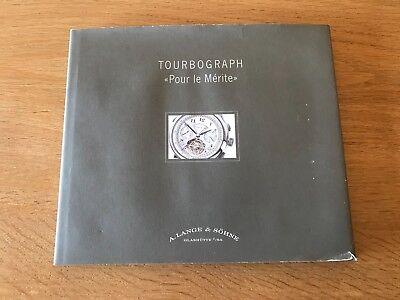 Libro LANGE & SÖHNE TOURBOGRAPH Book - English / German 2006 - Swiss Watches