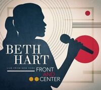 BETH HART - FRONT AND CENTER-LIVE FROM NEW YORK (CD+DVD)   CD+DVD NEU