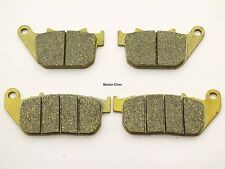 Front Rear Brake Pads For Harley Davidson XL 883 R Sportster R 2005-2013 2 Set