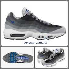 Nike Air Max 95 Essential Grey, Blue 749766-018 UK 9, EU 44, US 10, 100% Genuine