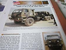 Archiv Militärfahrzeuge Schwere Rad Kfz 59.1 LKW 2,5t M1078 LMTV, M1083 MTV USA