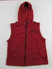 Womens Harley Davidson Full Zip Embroidered Hoodie Vest Size M