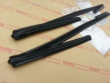 Toyota Corolla Coupe AE86 Front Door Glass Run LH +RH set NEW Genuine OEM Parts