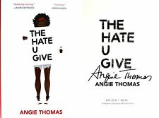 Angie Thomas~SIGNED IN PERSON~The Hate U Give~1st Ed HC + Photos!