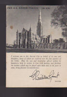 Salisbury 1944 Booklet for US Armed Forces in United Kingdom
