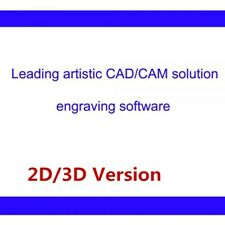 Leading Artistic Type3 CAD / CAM Engraving Software, 2D / 3D Version