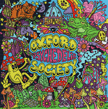 OXFORD PSYCHEDLIC SOCIETY BLOTTER ART BY PINKY - ONLY 100 MADE