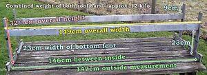 Vintage LAND ROVER ROOF BARS - LADDER RACK - Series 1 or 2 ? with POSTAL OPTION