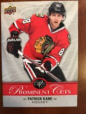 2017 UD National Card Convention Prominent Cuts PC-2 Patrick Kane NSCC promo