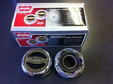 1/2 Ton (most Dana 44/GM 10 Bolt) Warn 20990 Premium Locking Hub (single)