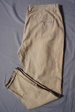 7 For All Mankind Pleated Cotton Canvas Chino Style Casual Pants. 40X32.5, GUC!!