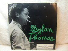 Dylan Thomas reading Ceremony After a Fire Raid 1950s EP – Caedmon TCE 106