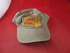 Donkey Kong 64 Nintendo 64 N64 Promotional Baseball Cap Hat DK 64