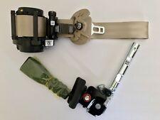 Sonata 15-16-17 Passenger BEIGE Seat Belt & Retractor With Tensioner OEM 2Parts