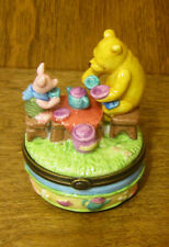 Midwest of Cannon Falls #220573 POOH & PIGLET Hinged Box NEW From Retail Store