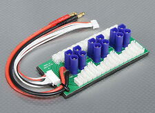 EC5 PARALLEL CHARGE BOARD FOR 6x PACKS 2-6S LIPO BATTERIES PARABOARD