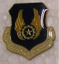 Hat Lapel Push Tie Tac Pin USAF Logistics Command NEW