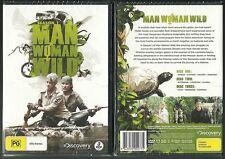 MAN WOMAN WILD COMPLETE SEASON 1 DISCOVERY CHANNEL WONDERFUL NEW 3 DVD SET