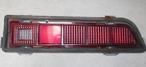1970 1971 Ford Torino right side tail light lamp lens w/ housing OEM