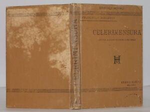 1893 BORLETTI CELERIMENSURA TACHEOMETRIA 29 INC HOEPLI