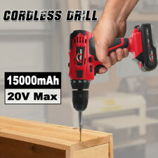 3/8inch 20V Cordless Drill Electric Wireless Power Driver battery recharger NEW