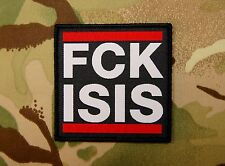FCK ISIS Morale Patch Peshmerga Infidel Crusader SEAL US Special Forces CAG Hook