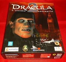 DRACULA 2 L'ULTIMO SANTUARIO Pc Versione Italiana1ª Ed Big Box ○ COMPLETO