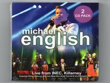 MICHAEL ENGLISH - Live from INEC, Killarney Ireland on 2CDS - Free Post UK