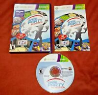 Game Party: In Motion (Microsoft Xbox 360, 2010) complete w/ manual *TESTED*
