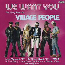 VILLAGE PEOPLE - CD - WE WANT YOU - THE VERY BEST OF VILLAGE PEOPLE