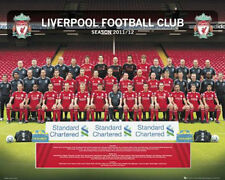 Liverpool Team 2011 2012 Soccer Poster 20x16 Poster Service