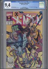 Uncanny X-Men #271 CGC 9.4 1990 Marvel Direct Edition Tiger Insert :New Frame