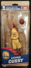 STEPHEN CURRY McFarlane NBA 28 The City Yellow Uniform GTS Exclusive Figure NEW
