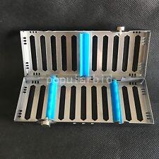 new Sterilization Cassette Rack Dental Instrument Autoclave 5 Instruments